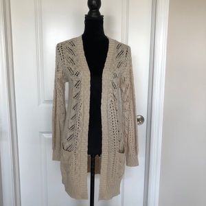 Hippie Rose open front duster cardigan (S)